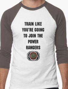 Train As If You're Joining The Power Rangers Men's Baseball ¾ T-Shirt