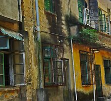 Yangshuo Windows - China by AlliD