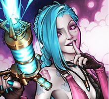 JINX's jinxed portrait! by Non Vale  Art