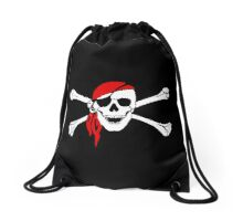 Arghh - Pirate! Drawstring Bag