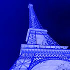 Blue Eiffel by Nathan Seiler