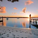 Tippler's Reflections - South Stradbroke Island Queensland. by Beth  Wode