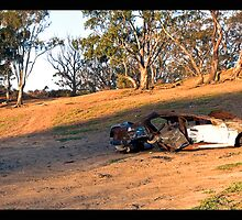 Destroyed, Melton Reservoir, Victoria by Darren Greenwell
