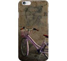 Pink bike from Lefkada iPhone Case/Skin