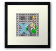 e for excalibur Framed Print