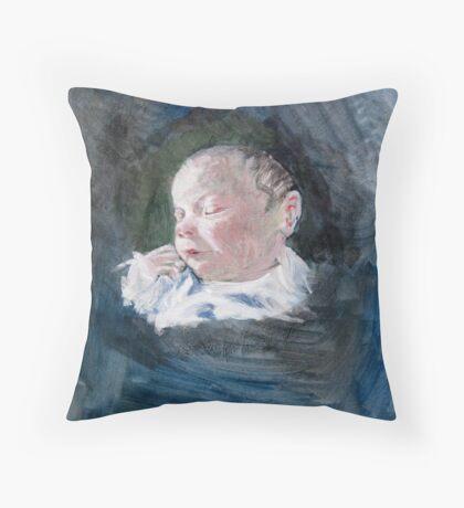 Erin - just born Throw Pillow