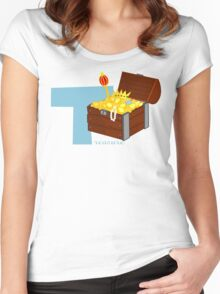 t for treasure Women's Fitted Scoop T-Shirt