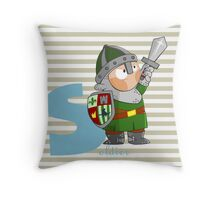s for soldier Throw Pillow