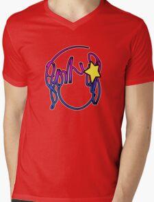 Ramona Stars Mens V-Neck T-Shirt