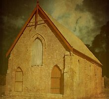 Wesley Church, Greenough, Western Australia by Elaine Teague