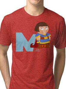 n for noble Tri-blend T-Shirt