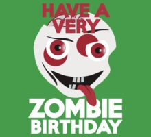 Have a very Zombie Birthday Kids Clothes
