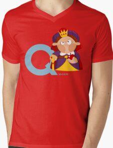 q for queen Mens V-Neck T-Shirt