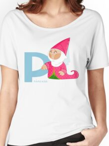p for princess Women's Relaxed Fit T-Shirt