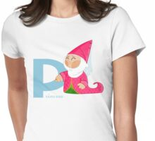 p for princess Womens Fitted T-Shirt