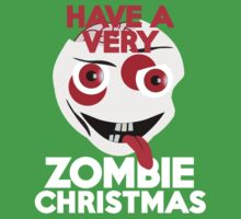 Have a very Zombie Christmas Kids Clothes
