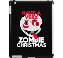 Have a very Zombie Christmas iPad Case/Skin