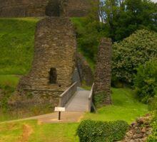 Launceston Castle Sticker
