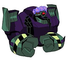 Lugnut from Transformers animated Photographic Print