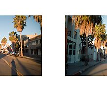 Abbot Kinney Boulevard, Venice, California, USA...narrowed. by David Yoon