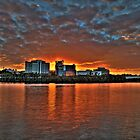 Rivercity Sunrise- Brisbane by Nathan Seiler