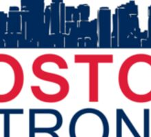 Boston Strong - Skyline Graphic Design Sticker