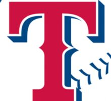 Texas rangers logo Sticker
