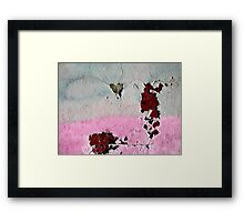 I Am Falling To Piece's Over You Framed Print