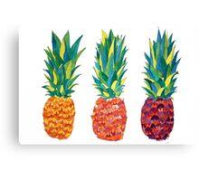 PineApple x3 Canvas Print