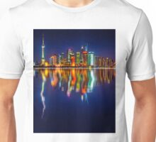 City skyline reflections 17 06 2015 Unisex T-Shirt