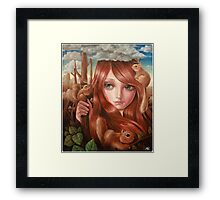 squittology world Framed Print