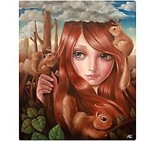 squittology world Photographic Print