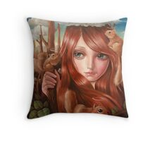 squittology world Throw Pillow