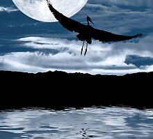 Blue Moon Rising by Janet Fikar