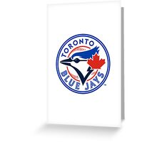 Toronto blue jays logo Greeting Card
