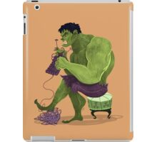 Skills Hulk iPad Case/Skin