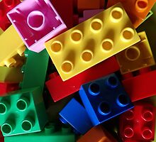 colourful building blocks #2 by AllThingsNice