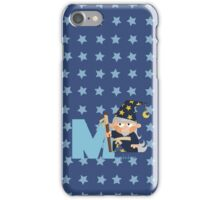 m for magician iPhone Case/Skin