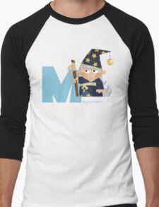 m for magician Men's Baseball ¾ T-Shirt