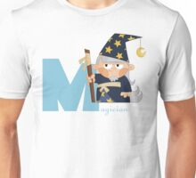 m for magician Unisex T-Shirt