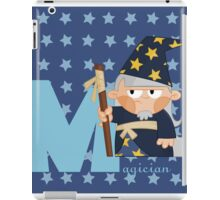 m for magician iPad Case/Skin