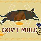 Gov't Mule Poster by massmediamobile