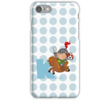 k for knight iPhone Case/Skin