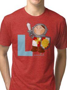 l for lancelot Tri-blend T-Shirt