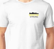 Boston Strong - Skyline Black and Yellow Unisex T-Shirt