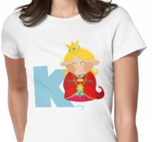 k for king Womens Fitted T-Shirt