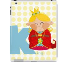 k for king iPad Case/Skin