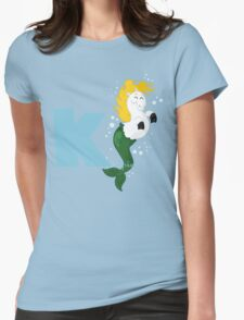 k for kelpie Womens Fitted T-Shirt