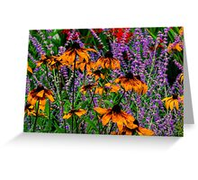 Full Of Flowers Greeting Card