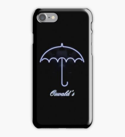 Gotham Oswald's night club iPhone Case/Skin